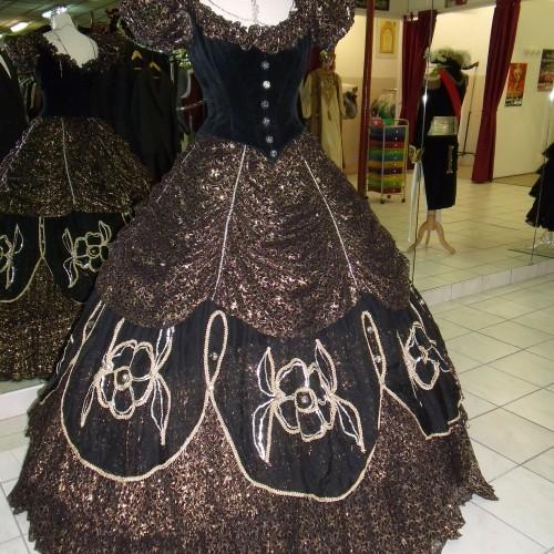Robe Impératrice  Eugenie de Montijo